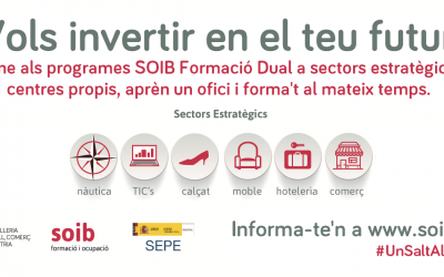 Programes SOIB FORMACIÓ DUAL sectors estratègics i centres propis