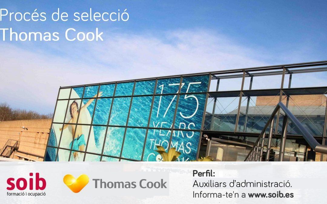 PROCÉS DE SELECCIÓ PER A THOMAS COOK