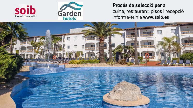 PROCÉS DE SELECCIÓ PER A GARDEN HOTELS