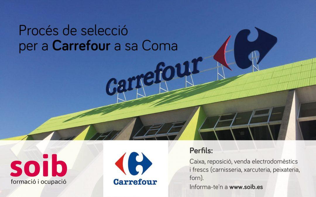 El SOIB preselecciona candidats per a l'hipermercat Carrefour de sa Coma