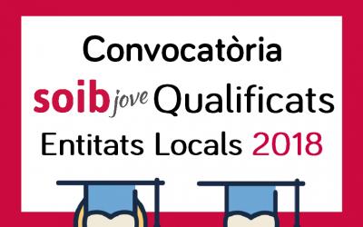 Convocatòria SOIB Jove Qualificats Entitats Locals