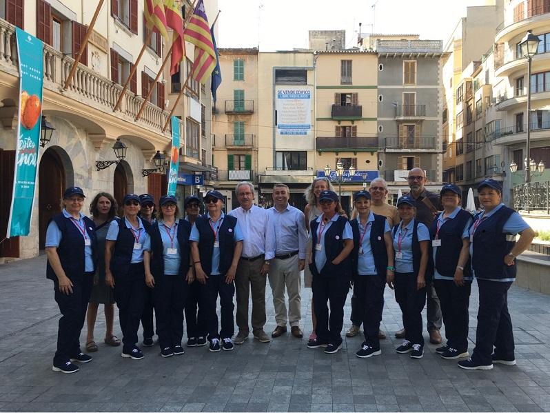 11 agents cíviques treballen a Inca gràcies al programa SOIB Visibles 2018