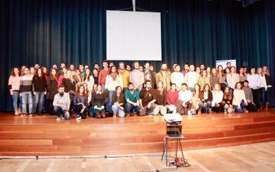 La presidenta y el rector asisten al acto de agradecimiento de los 92 jóvenes contratados en la UIB con el programa SOIB Jóvenes Cualificados