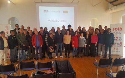 Finalitza la primera fase de SOIB Visibles 2018, programa gràcies al qual PalmaActiva contracta 73 persones