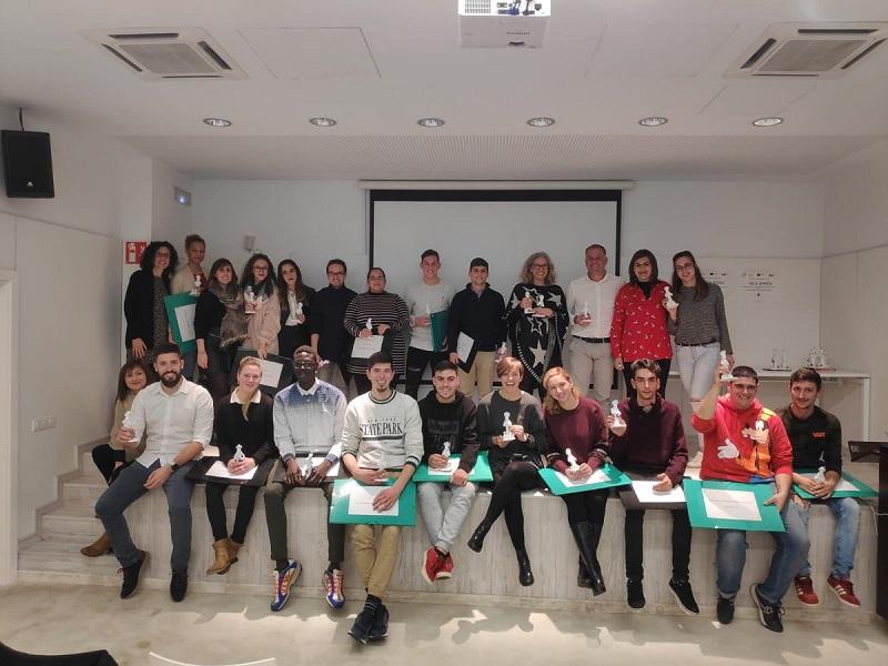 """16 alumnes treballadors dels projectes  """"Inca roda"""" i """"Inca aprèn"""" s'han beneficiat dels programes del SOIB Jove Formació i Ocupació"""