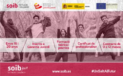 Selección DOCENTES y ALUMNADO-TRABAJADOR programa SOIB Jove Formación y Ocupación