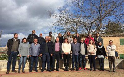 12 personas desempleadas de larga duración se incorporan al Ayuntamiento de Marratxí a través de SOIB Visibles 2018