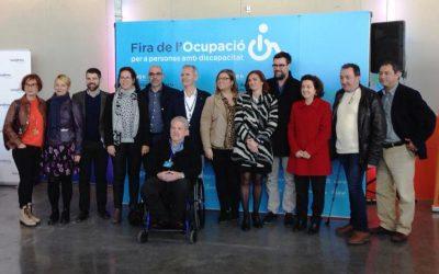Primera FIRA D'OCUPACIÓ PER A PERSONES AMB DISCAPACITAT organitzada per ASPROM