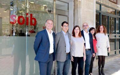 Armengol destaca que el servicio SOIB Joven Orientación «está más cerca de la ciudadanía» con la nueva oficina en el centro de Palma