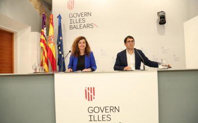 Consell de Govern: El Govern presenta el mayor conjunto de medidas sociolaborales, con un presupuesto global de 34,1 millones de euros, que beneficiarán a 6.200 personas