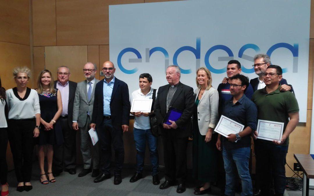 El SOIB participa en el lliurament dels diplomes del curs d'Electricitat i Domòtica de la Fundació Endesa i Càritas Mallorca