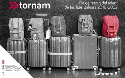 Programa Tornam – Pla de retorn del talent de les Illes Balears