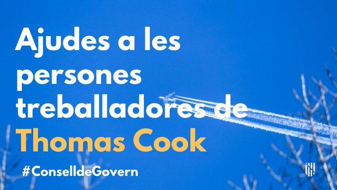LA MAJORIA DE TREBALLADORS DE THOMAS COOK QUE VAN DEMANAR L'AJUDA DEL GOVERN JA HAN COBRAT O COBRARAN EN ELS PROPERS DIES