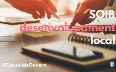 Consell de Govern: aprovada la convocatòria del SOIB que permetrà contractar prop de setanta Agents d'Ocupació i de Desenvolupament Local
