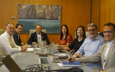 El conseller Negueruela i el batle de Calvià intensifiquen la col•laboració per traçar un Pla d'Ocupació al municipi