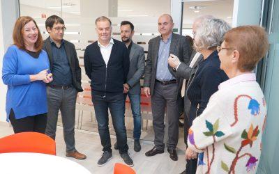 La presidenta Francina Armengol inaugura la nova seu del SOIB a Eivissa