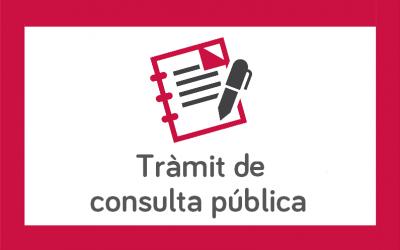 Trámite de audiencia del Proyecto de Decreto para el Registro de entidades, servicios de orientación profesional y complementarios