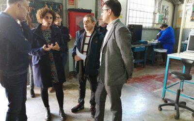 El conseller Negueruela visita el centro de la cooperativa Jovent en Son Gibert