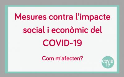 Com m'afecta el Reial decret llei per fer front a l'impacte social i econòmic del COVID-19?