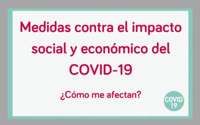 ¿Cómo me afecta el Real decreto ley para hacer frente al impacto social y económico del COVID-19?