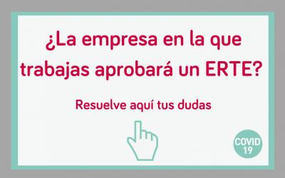 ¿La empresa donde trabajas aprueba un ERTE?
