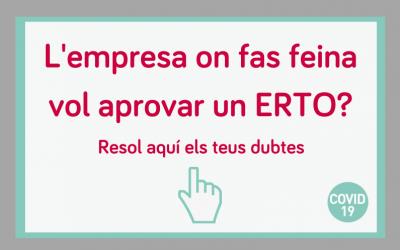 L'empresa on treballes aprova un ERTO?