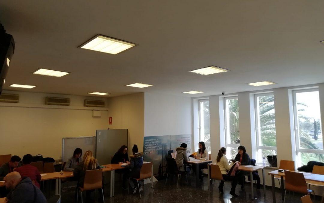 El servei SOIB Empreses entrevista 140 persones candidates en el tercer job day d'Eroski per a la zona de Palma