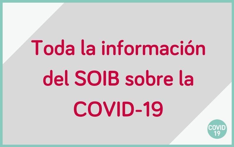 El SOIB ha puesto en marcha toda una serie de herramientas para continuar ofreciendo servicio sin que tengas de salir de casa