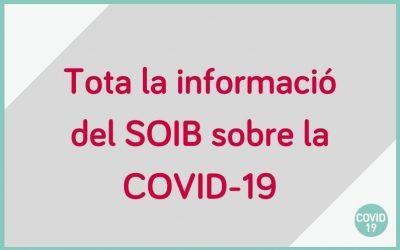 El SOIB ha posat en marxa tota una sèrie d'eines per continuar oferint servei sense que hagis de sortir de casa