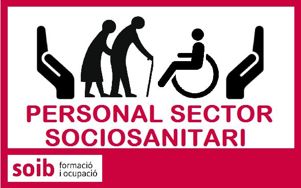 Es necessita personal sanitari i sociosanitari per centres sociosanitaris d'Eivissa. Si estàs disponible, inscriu-te aquí
