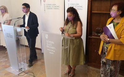 La nueva convocatoria de SOIB Dona permitirá la contratación durante un año de 100 mujeres que han sufrido violencia machista