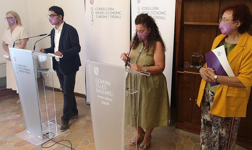 La nova convocatòria de SOIB Dona permetrà la contractació durant un any de 100 dones que han patit violència masclista
