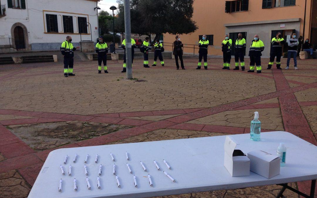 51 persones treballaran durant quatre mesos a l'Ajuntament de Marratxí gràcies al programa SOIB Reactiva