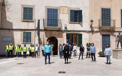 17 personas trabajarán durante cuatro meses en el Ayuntamiento de Felanitx gracias al segundo turno del programa SOIB Reactiva