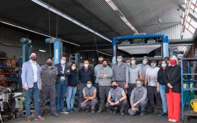 Visita als 20 alumnes-treballadors de Xapa i Mecànica de PalmaActiva emmarcat en la convocatòria SOIB 30 i SOIB Jove Formació i Ocupació
