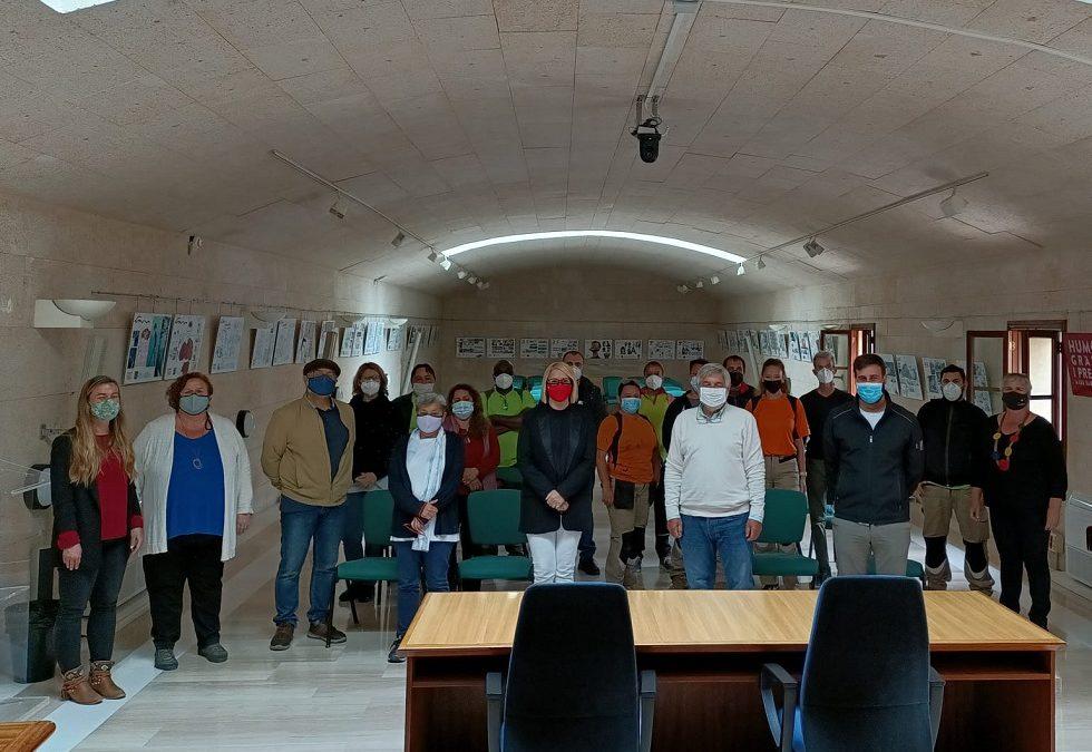 Dotze persones del segon torn del programa SOIB Reactiva 2020 han començat a treballar a l'Ajuntament d'Andratx