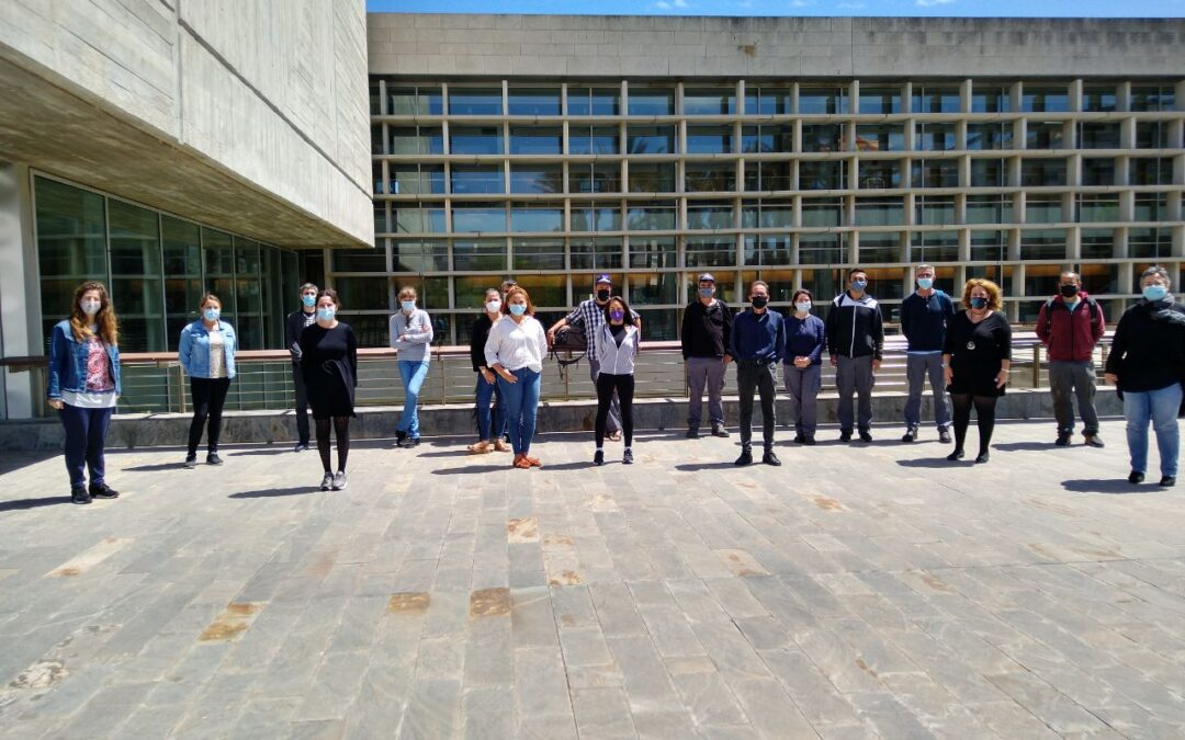 El Consell Insular de Menorca incorpora un nou grup de 25 persones del programa SOIB Reactiva 2020
