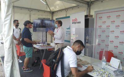 Prop de 300 persones visiten els estands del SOIB i del Centre de la Mar a la fira nàutica Palma International Boat Show