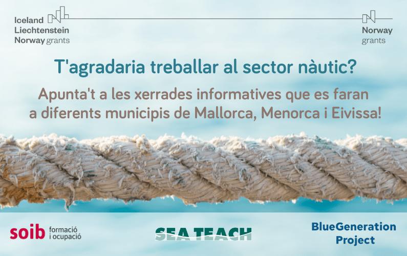 Xerrades per conèixer les possibilitats formatives i laborals del sector nàutic. Inscripció oberta Calvià i Andratx.