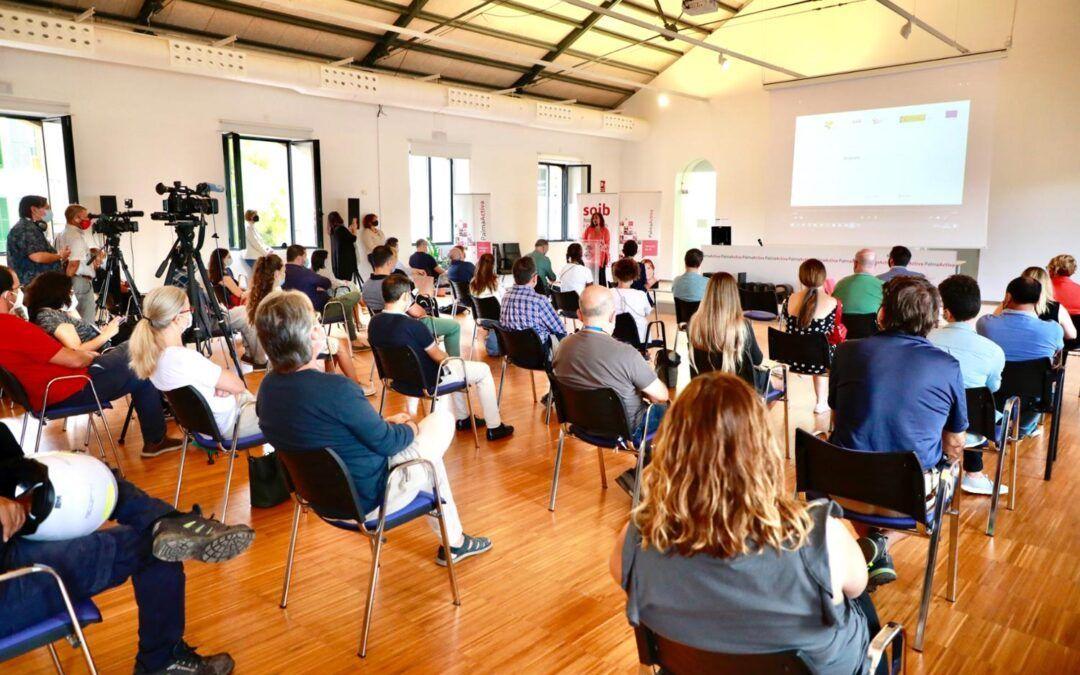 La presidenta Francina Armengol clausura el programa SOIB Reactiva 2020 que ha desenvolupat PalmaActiva