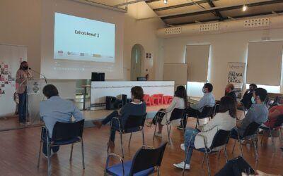 57 alumnes treballadors finalitzen els cinc projectes mixts de formació i ocupació  SOIB JOVE I SOIB 30 de PalmaActiva