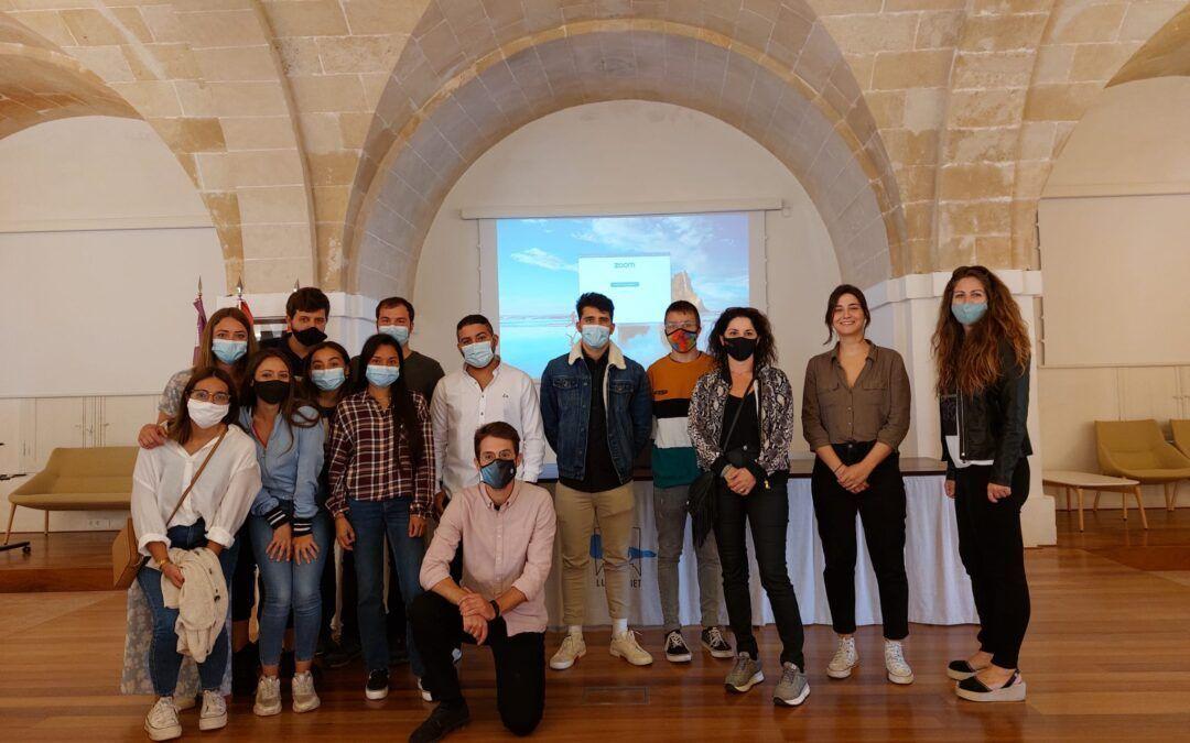 El alumnado de SOIB Jove Formación y Ocupación del proyecto Alforí acaba el contrato de 12 meses en el Consell Insular de Menorca